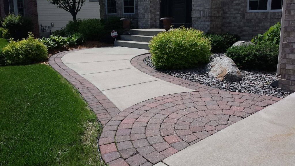 Pavers can enhance your designed landscape